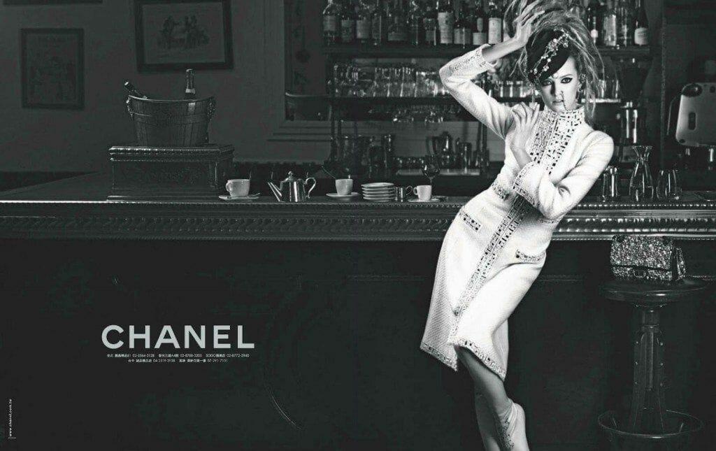 Daria Strokous Chanel Paris Bombay