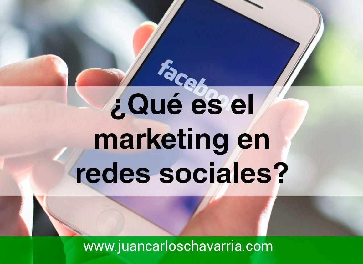 Qué es el marketing en Redes sociales