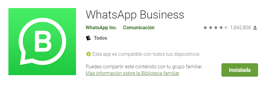 whatsapp business 2020